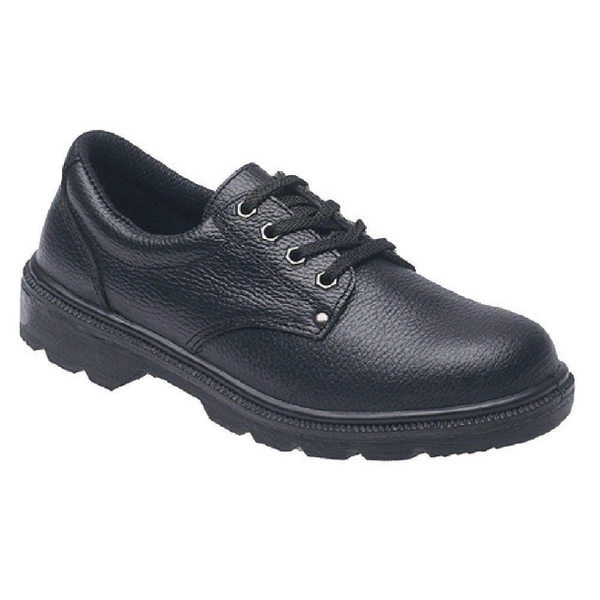 Briggs Industrial Toesavers S1P Black Safety Shoe Size 4 2414BK040