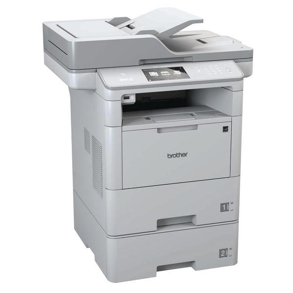Brother Mono Multifunction Laser Printer MFC-L6800DWT Grey MFC-L6800DWT