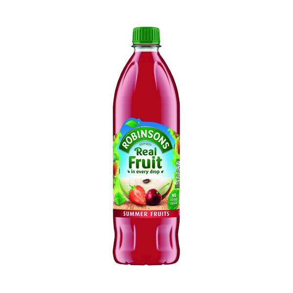 Robinsons No Added Sugar Summer Fruits Squash 1 Litre 206937