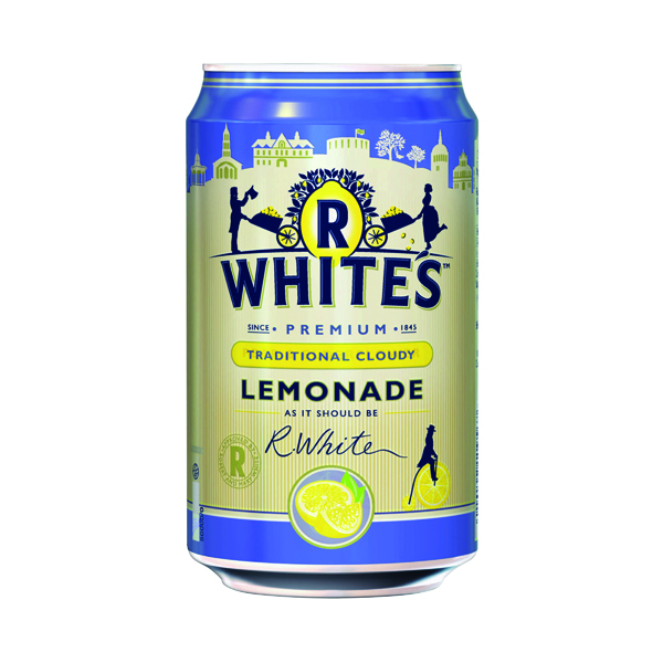 Britvic R Whites Cloudy Lemonade 330ml (24 Pack) 0402122