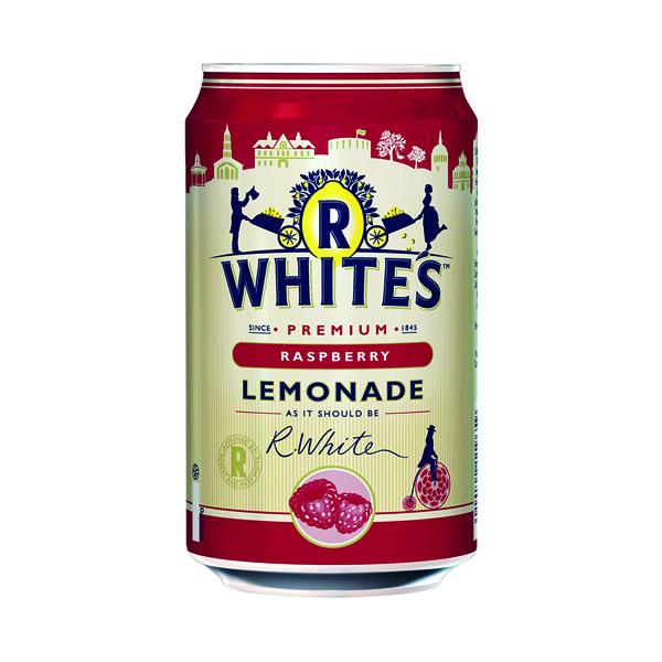 Britvic R Whites Raspberry Lemonade 330ml (24 Pack) 0402119
