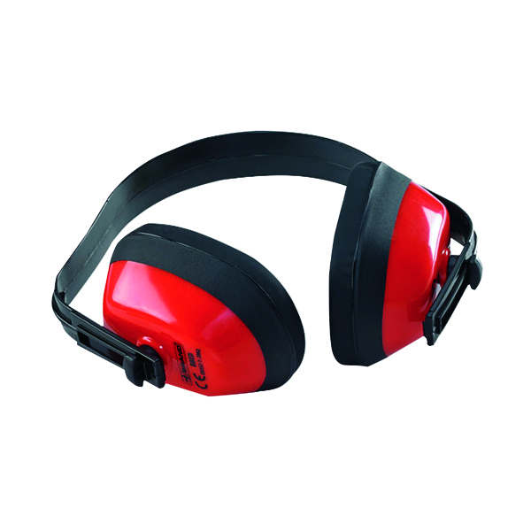 B-Brand Red SNR27 Ear Defenders BBED