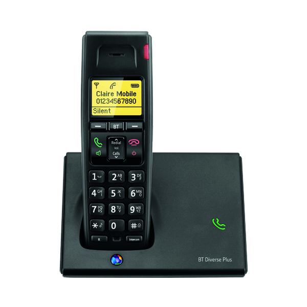 BT Diverse 7110 R DECT Cordless Black Phone 060743