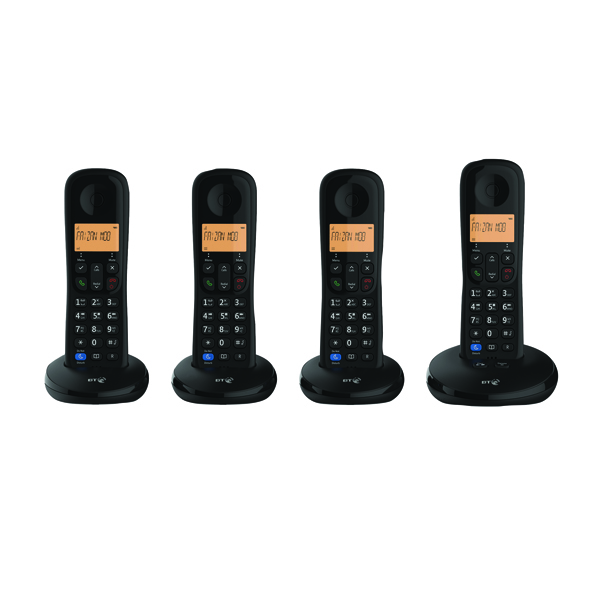 BT Everyday DECT TAM Phone Quad 90668