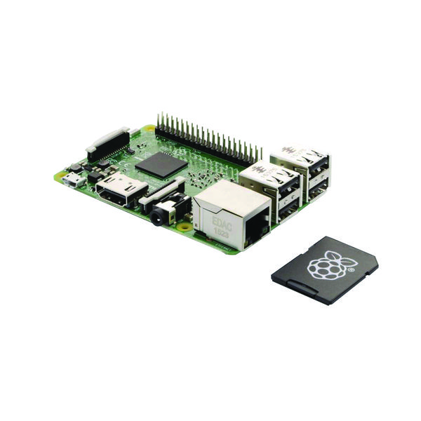 Busbi Rasberry Pi3 Starter Kit Built-in Bluetooth/Wifi BRPI3/16G