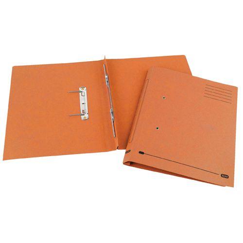 Elba Spirosoft Spring Foolscap Orange (25 Pack) 100090161