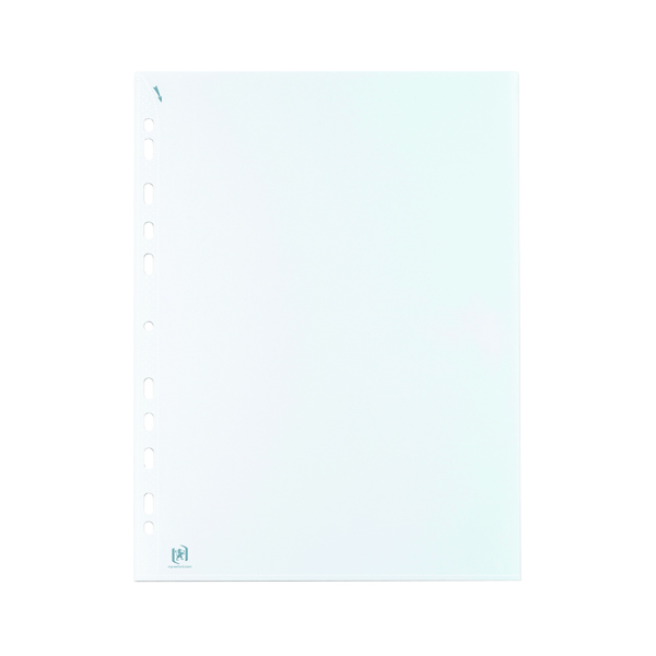 Elba Quick In Punched Pockets A4 Clear (100 Pack) 400012939