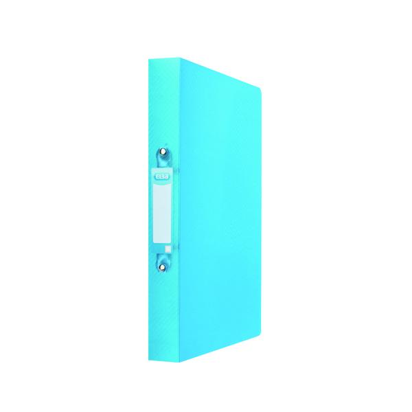 Elba Ring Binder 25mm Capacity A4 Blue 400104456