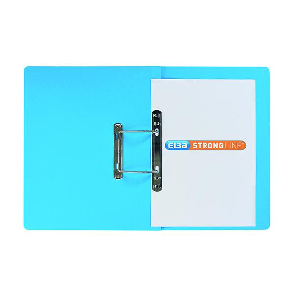 Elba Spring File Manilla Foolscap Blue (25 Pack) 100090035