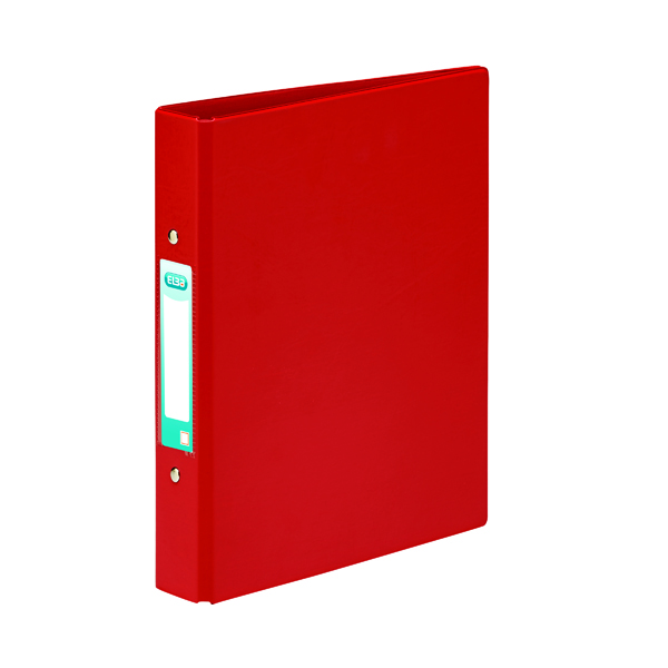 Elba 25mm 2 O-Ring Binder A5 Red (10 Pack) 100082444