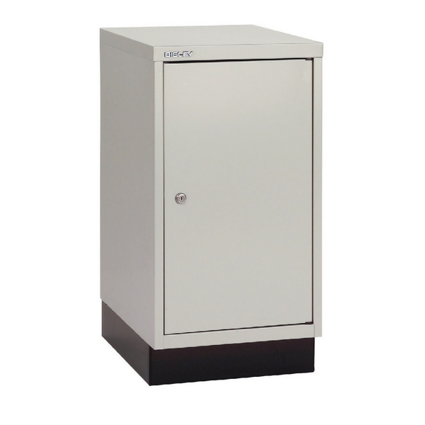 Bisley 1 Door Cupboard W349xD432xH670mm Goose Grey BY04034