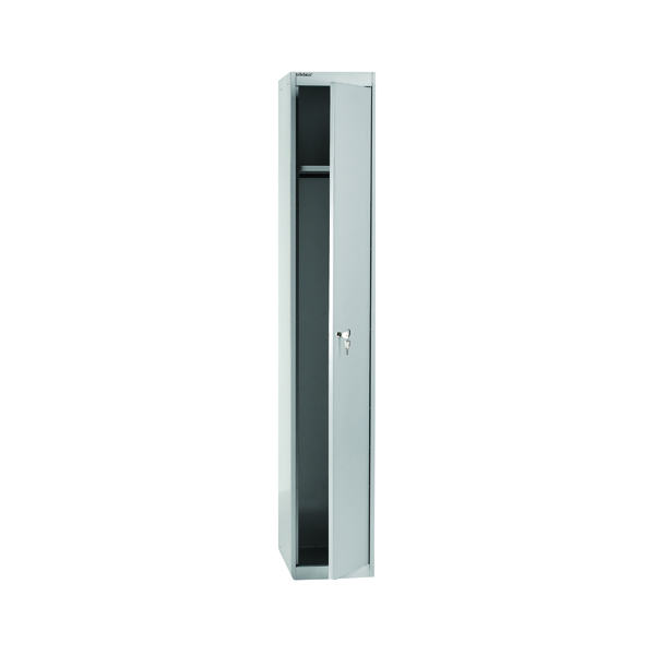 Bisley 1 Door Locker W305xD457xH1802mm Goose Grey BY09215