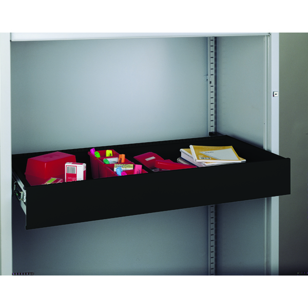 Bisley Rollout Drawer 4in Light Grey RODWR4-45