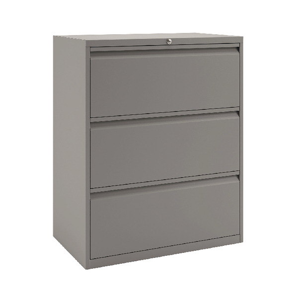 Bisley 3 Drawer Unit Goose Grey BY74761