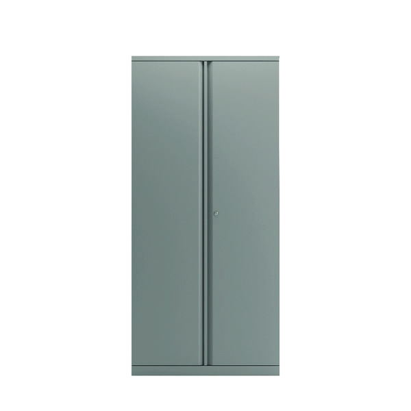 Bisley Goose Grey 1968mm 2 Door Cupboard BY74769