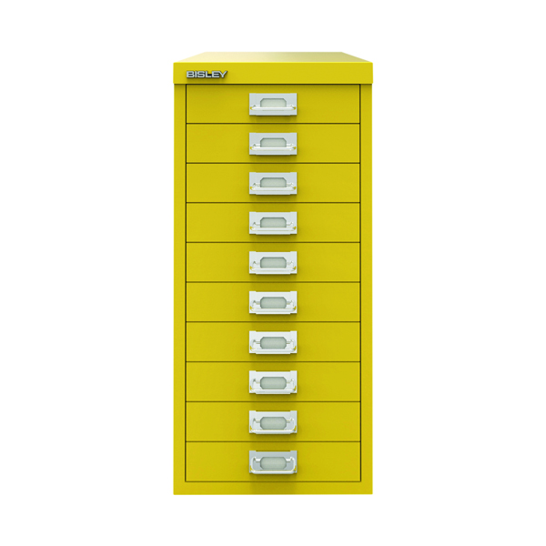 Bisley 29 10 Non-Lock Multidrawer Canary Yellow BY78744