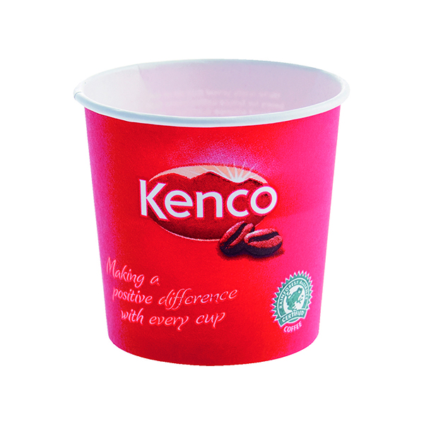 Kenco 7oz Singles Paper Cups Red (800 Pack) B01794