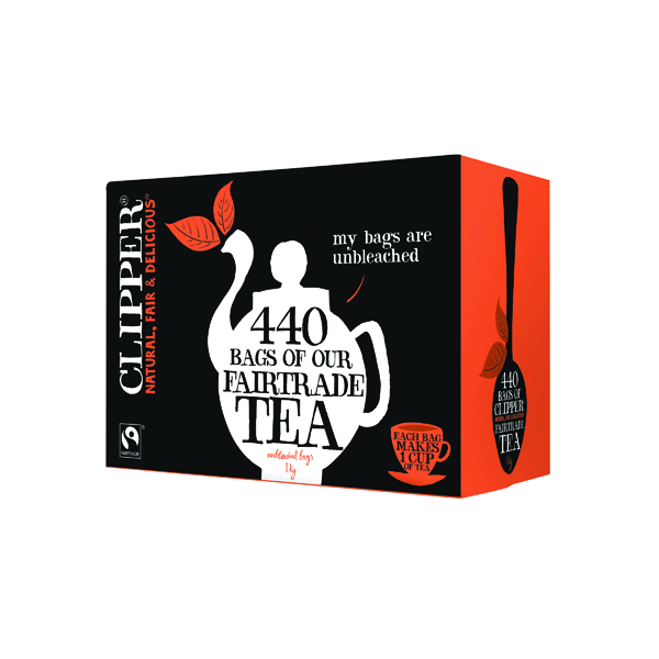 Clipper Fairtrade Everyday Tea Bags (440 Pack) A06816