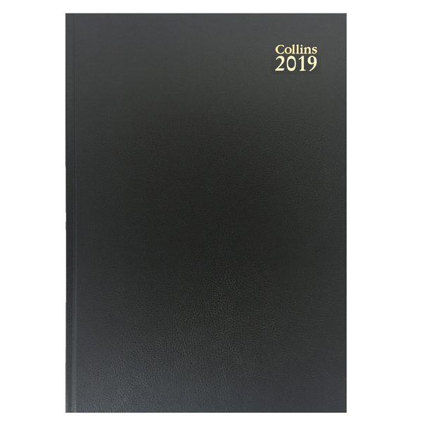 Collins Desk Diary A5 Week to View 2019 Red 35