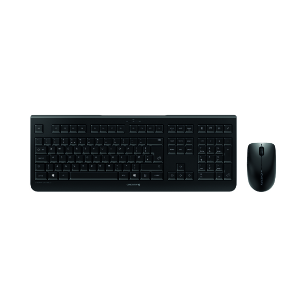CHERRY DW 3000 Wireless Keyboard/Mouse Set Black JD-0710GB-2