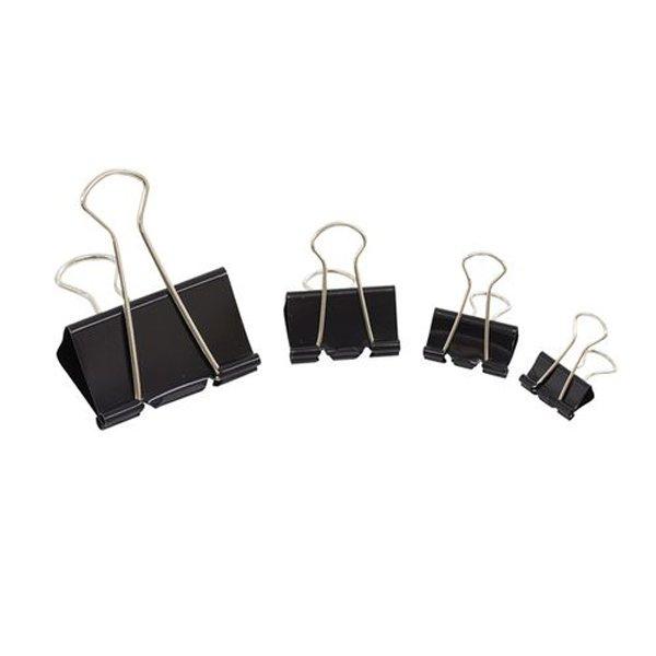 Initiative Foldback Clips 32mm Black (10 Pack)