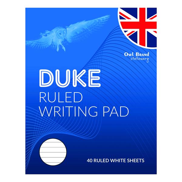 Duke Ruled Writing Pad 40 Sheets (10 Pack) OBS066