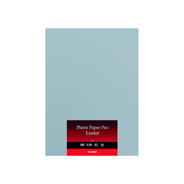 Canon Pro Luster A2 Photo Paper 25 Sheets (25 Pack) 6211B026