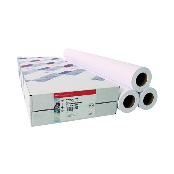 Canon Coated Premium Inkjet Paper 610mmx45m (3 Pack) 97003451
