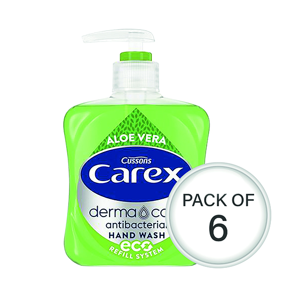 Carex Aloe 250ml (6 Pack) 339865