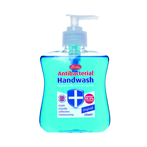 250ml Antibacterial Hand Wash (2 Pack) KCWMAS/2