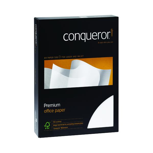 Conqueror Wove Cream A4 Paper 100gsm (500 Pack) CQW0324CRNW