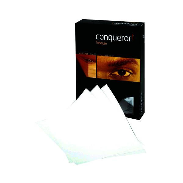 Conqueror Laid A4 Paper 100gsm Brilliant White (500 Pack) CQP0324032BWNW