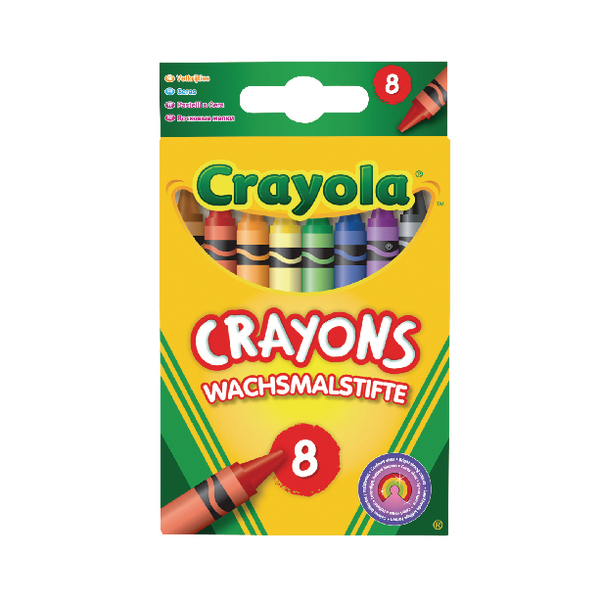 Crayola Assorted Colouring Crayons (192 Pack) 2.0008