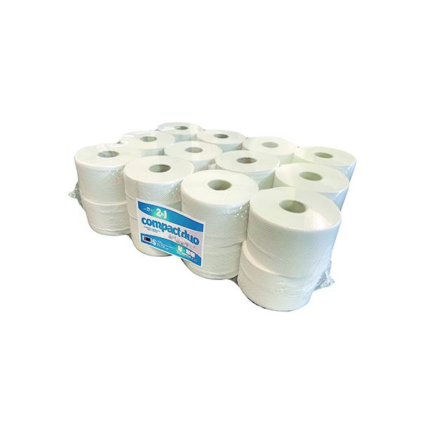 2-Ply Micro Jumbo Toilet Roll 80m (24 Pack) JWH201