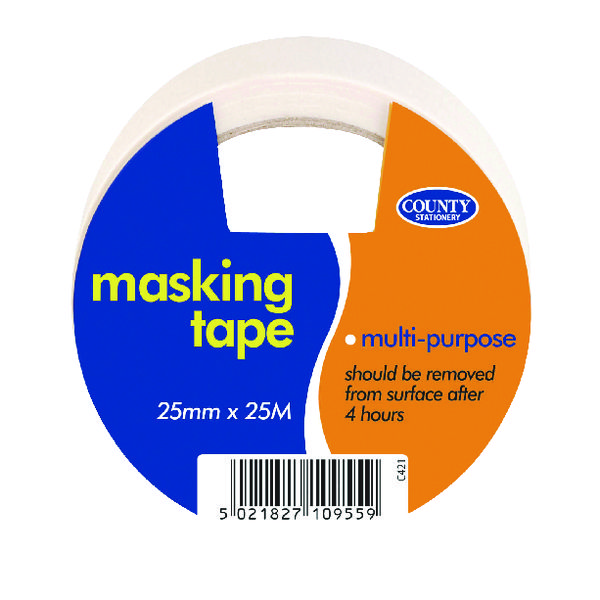 County Masking Tape (12 Pack) C421