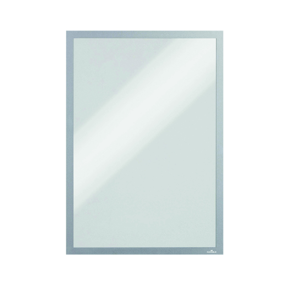 Durable Magnetic A3 Duraframe Silver (5 Pack) 486823