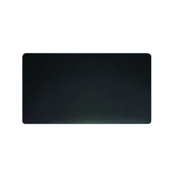 Durable Desk Mat with Contoured Edges W650 x D520mm Black 7103/01