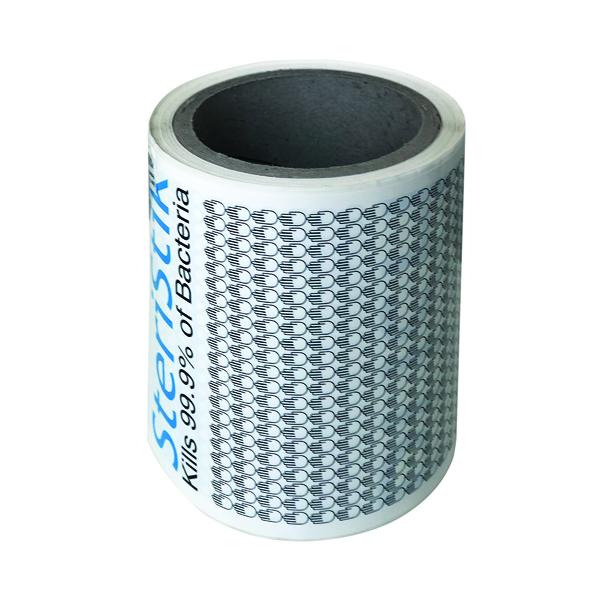 Deflecto SteriStik Door Push 480mm x 120mm (10 Pack) STP-120