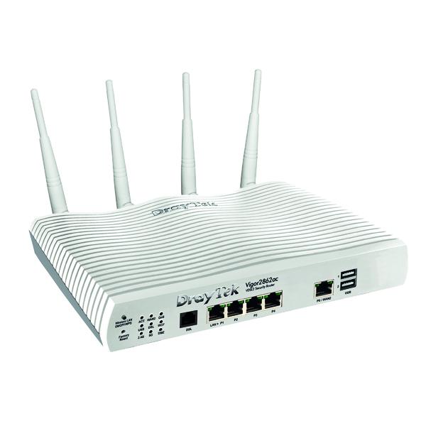DrayTek Vigor 2862 AC Router/Firewall ADSL+VDSL V2862AC-K