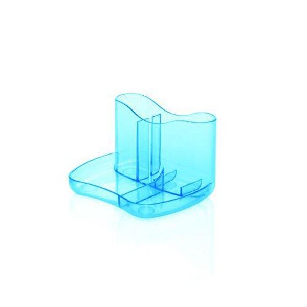 Initiative Contemporary Desk Caddy Ice Blue