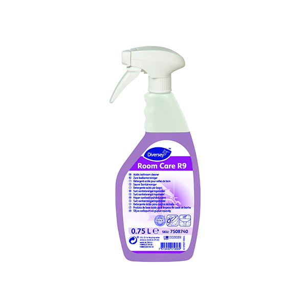Diversey Room Care R9 Bathroom Cleaner 750ml (6 Pack) 7508740