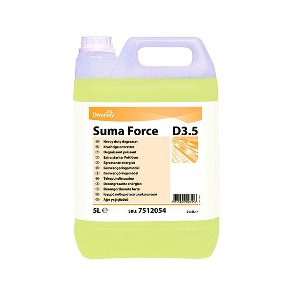 Diversey Suma D3.5 Heavy Duty Degreaser 5 Litre (2 Pack) 7512054