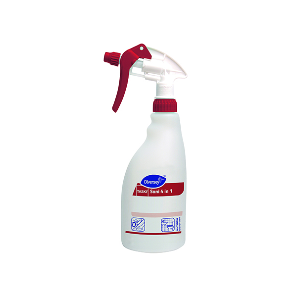 Diversey Spray Disinfectant and Descaler Refill Bottle 500ml (5 Pack) 7518580