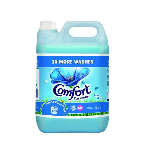 Comfort Professional Concentrated Fabric Softener Original 5L (2 Pack) 7508522
