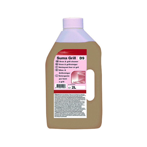 Diversey Suma Grill D9 Oven Cleaner 2 Litre (6 Pack) 7010064
