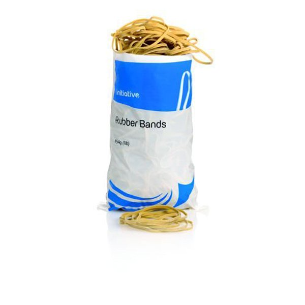 Initiative Rubber Band Assorted Sizes 454g Bags