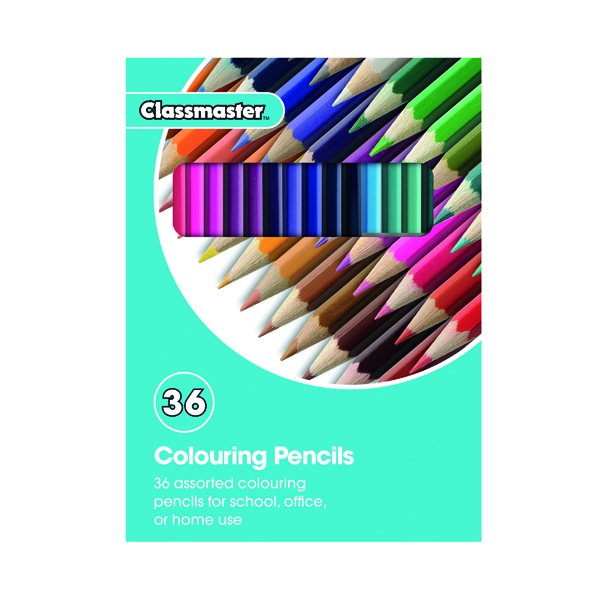 Classmaster Colouring Pencils Assorted CPW36