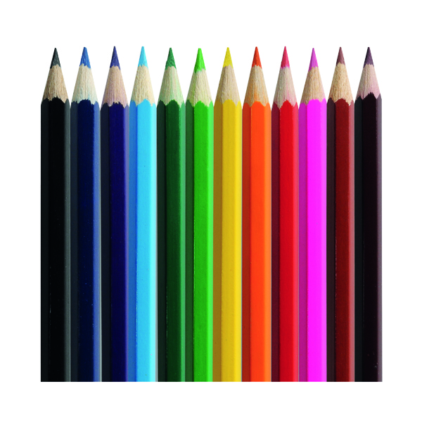 Classmaster Colouring Pencils Assorted CP500