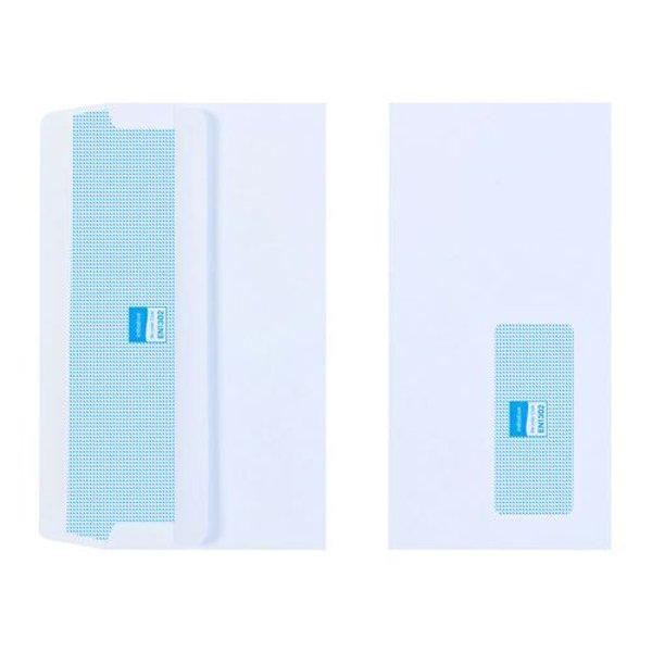 Initiative Envelope DL Self Seal Window 110gsm White (1000 Pack)