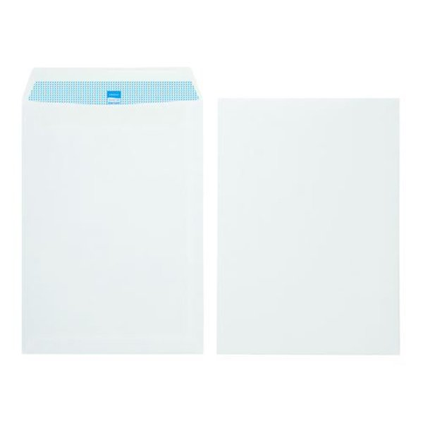 Initiative Envelope Pocket C4 Self Seal 90g White (250 Pack)
